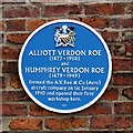 SJ8498 : Avro blue plaque by Thomas Nugent