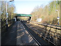 SJ9484 : Middlewood (Low Level) railway station by Nigel Thompson