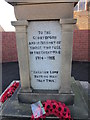 NZ3083 : The War Memorial at Cambois by Ian S