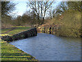 SJ5794 : Bradley (Bradlegh) Lock, Sankey Canal by David Dixon