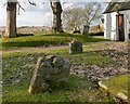 NS3478 : Burial ground at St Mahew's Chapel by Lairich Rig
