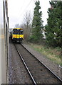 TQ3395 : EMU passes charter train approaching Enfield Town Station by Roger Templeman