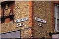 TQ3382 : Street signs in Brick Lane by Steve Daniels