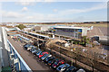 SU4416 : Southampton Airport Parkway railway station by Peter Facey