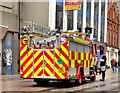 J3374 : Fire appliance, Belfast (2013-1) : Week 6