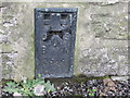 SK1471 : Ordnance Survey Flush Bracket 2534 by Peter Wood