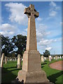 NT8847 : War Memorial, Ladykirk by Barbara Carr