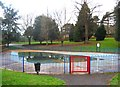 SO8275 : Former paddling pool at Brinton Park (1), Sutton Road, Kidderninster by P L Chadwick