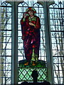 TL2842 : St Peter &amp; St Paul, Steeple Morden, Stained glass window by Alexander P Kapp