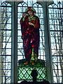 TL2842 : St Peter & St Paul, Steeple Morden, Stained glass window by Alexander P Kapp