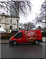 TQ3078 : London Pride Van Atterbury Street, London by PAUL FARMER