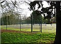SO8275 : Tennis courts, Brinton Park, Sutton Road, Kidderminster by P L Chadwick