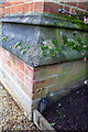 SU5199 : Benchmark on buttress of Radley College Hall by Roger Templeman
