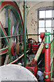 SJ8649 : Middleport Pottery - steam engine by Chris Allen