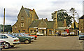 ST4508 : Crewkerne station exterior, 1984 by Ben Brooksbank