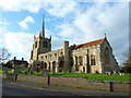 TL2744 : St Mary's Church, Guilden Morden by Alexander P Kapp