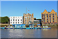 TQ3480 : Wapping Police Jetty by Wayland Smith