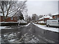 SO9294 : Snowy Springfield Avenue by Gordon Griffiths