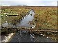 SE1443 : Water Channel running off Hawksworth Moor by Chris Heaton