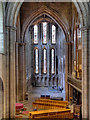 NY9364 : Hexham Abbey, North Transept and Lady Chapel by David Dixon