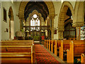 NY7146 : St Augustine's Church (interior) by David Dixon