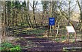 SO8475 : Entrance to Spennells Valley Nature Reserve, Kidderminster by P L Chadwick