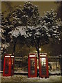 TQ3082 : Telephone boxes, Russell Square WC1 by R Sones