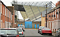 J3272 : The West Stand, Windsor Park, Belfast (2013-3) by Albert Bridge