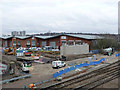 SK5538 : Progress at Lenton railway bridge - 1 by Alan Murray-Rust