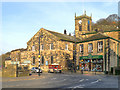 SE1408 : Towngate, Holmfirth Parish Church (Holy Trinity) by David Dixon