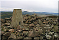 NO7891 : Summit area of Cairn-mon-earn by Trevor Littlewood