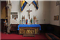 TQ2584 : St Mary with All Souls, Abbey Road, Kilburn - South altar by John Salmon