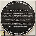 SD5708 : The Boar's Head (plaque) by David Dixon
