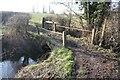 SJ5874 : Packhorse bridge by Dave Dunford