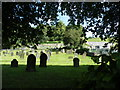 SK2474 : All Saints Church Graveyard, Curbar Hill, Curbar - 5 by Terry Robinson