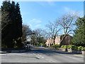 SJ8488 : Northenden Road, Cheadle by Peter Barr