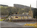 NY6565 : Greenhead Hotel and Church by David Dixon