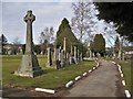 NO1743 : Blairgowrie Cemetery by Richard Dorrell