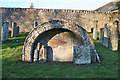 NJ7057 : Arched Tomb by Anne Burgess