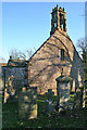 NJ7057 : King Edward Old Kirk by Anne Burgess