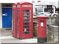 SZ0378 : Swanage: a phone box has been removed by Chris Downer