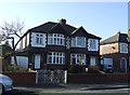 SJ6486 : Houses on Knutsford Road by JThomas