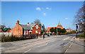 SJ3670 : Church Road, Saughall by Des Blenkinsopp