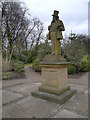 SD9303 : Alexandra Park, Statue of Joseph Howarth by David Dixon