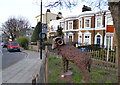 TQ3276 : A Sheep in Camberwell by Des Blenkinsopp