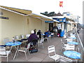 SX9473 : East Cliff cafe, Teignmouth by David Hawgood