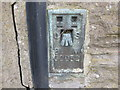 SE1502 : Ordnance Survey Flush Bracket G2052 by Peter Wood