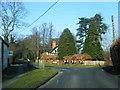 SJ5662 : Eaton Road/Cobblers Cross Lane junction by Colin Pyle