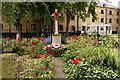 TQ3579 : War memorial in St Mary the Virgin churchyard by Steve Daniels