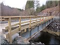 NM9514 : River Avich bridge on the West Loch Awe Timber Haul Route by Patrick Mackie